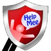 HelpMee:隨身定位求救、防身防狼守護、警報脫險緊急報案應用程式Logo