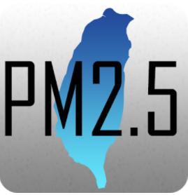 台灣 PM2.5 & PM1.0 分佈圖 含空氣品質 風向 及 歷史紀錄應用圖片